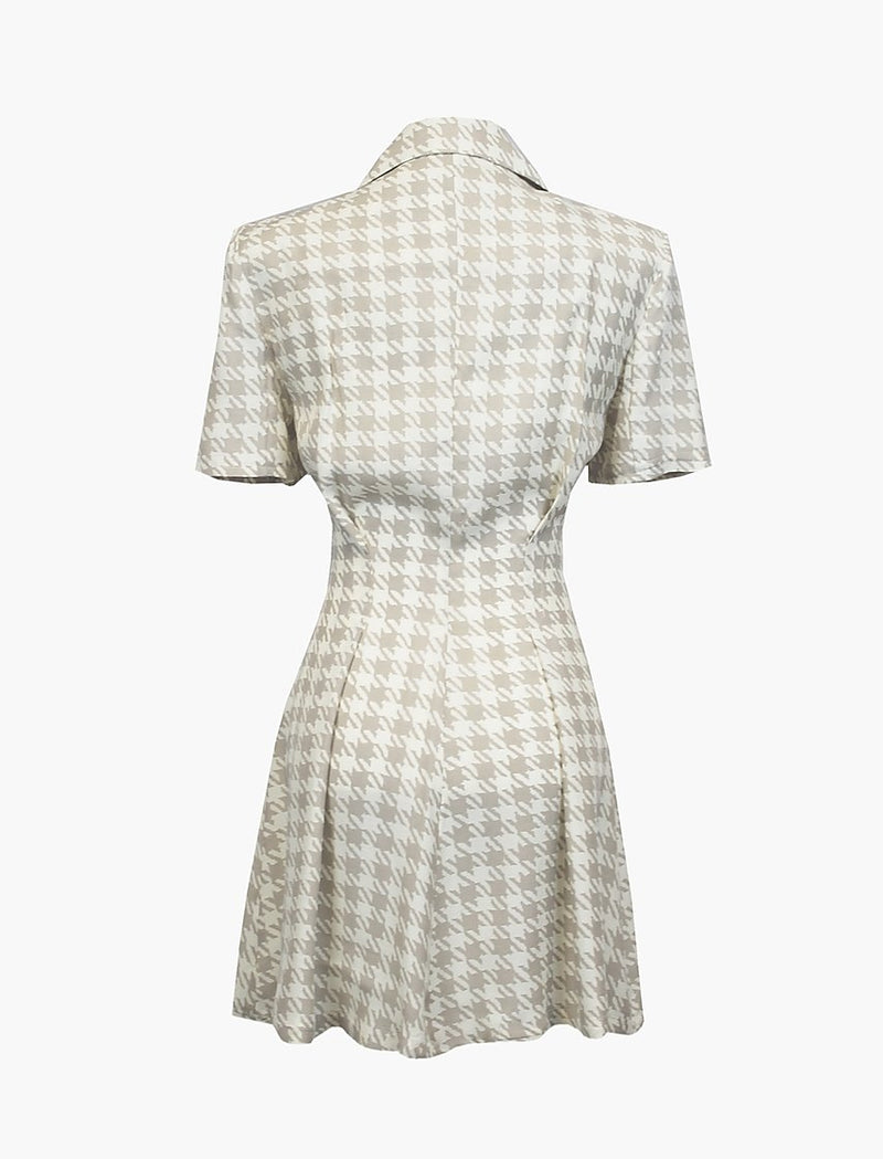 Houndstooth Sofia Dress