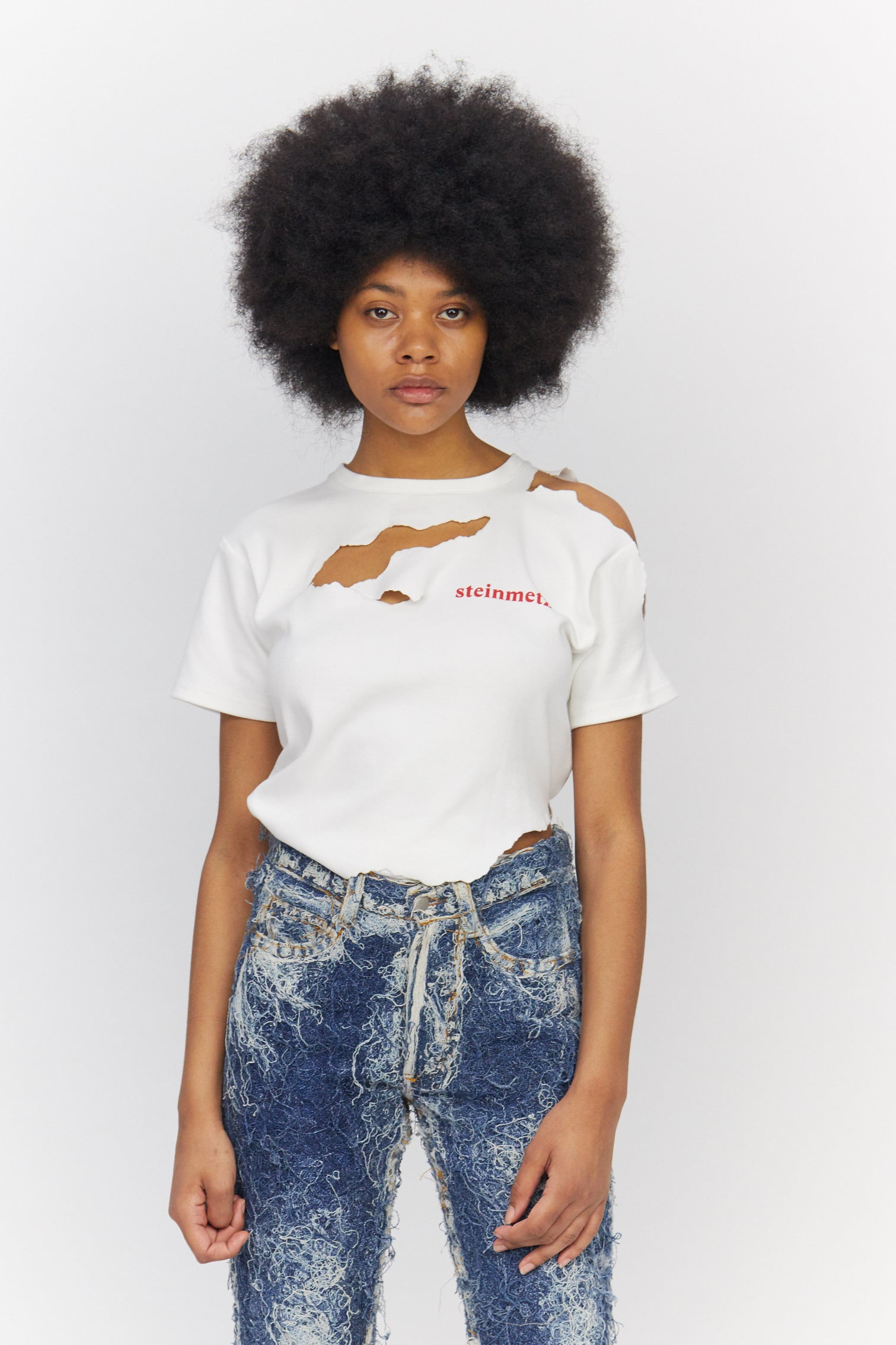 Womens Tee Peeled