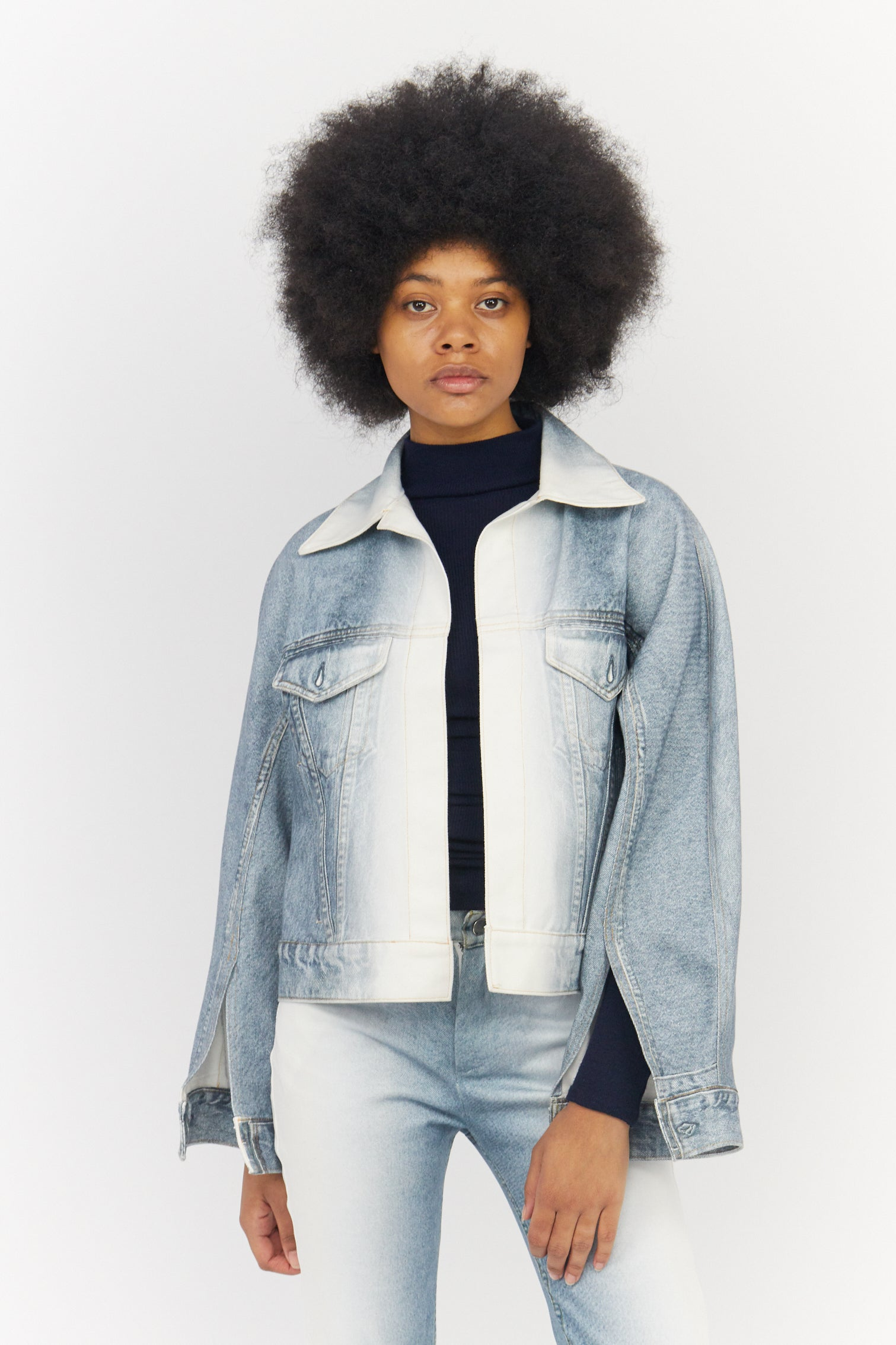 Dissapearing Denim Jacket