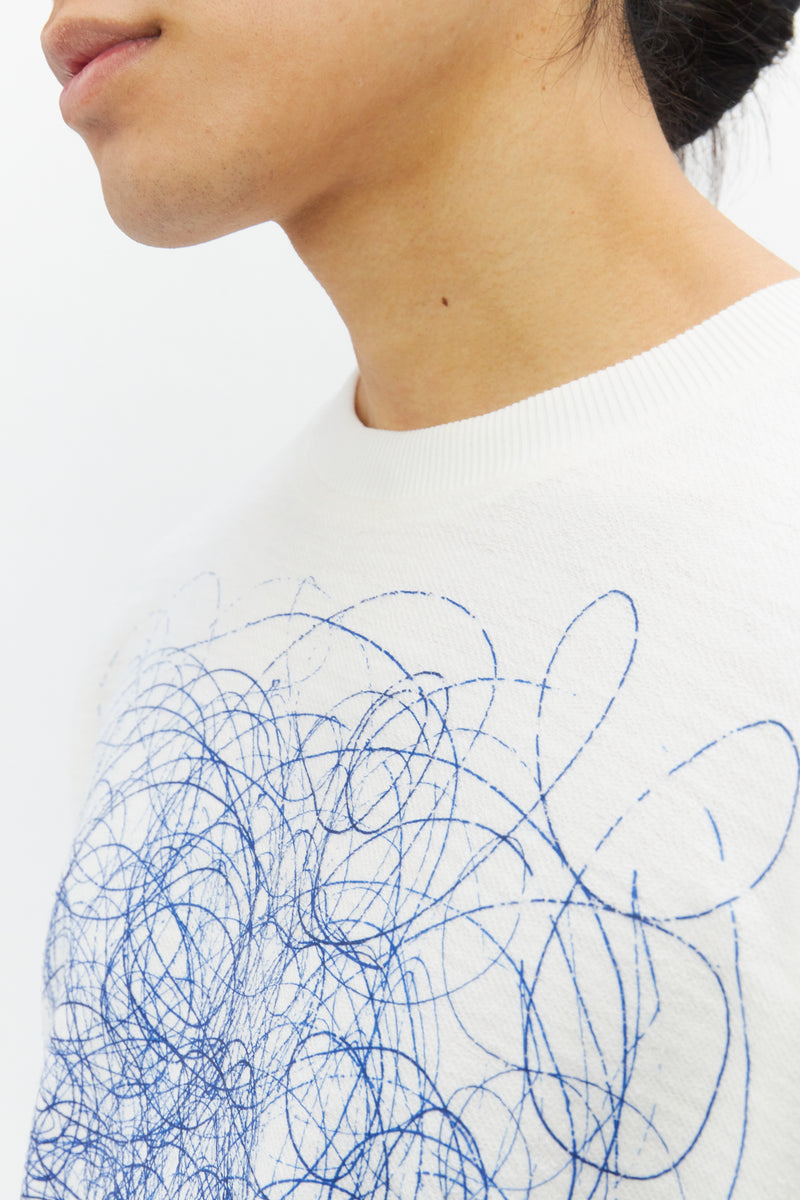 Pen Scribble Terry T shirt