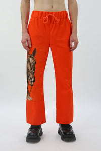Orange Horse Trousers
