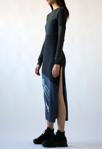 Reconstructed Split Dress-50m London
