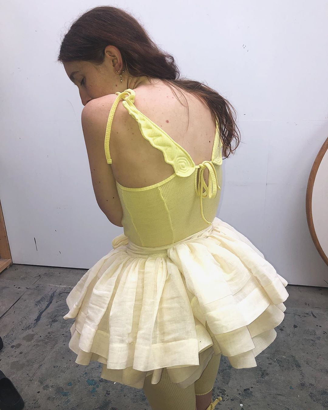 Yellow Angel Camisole