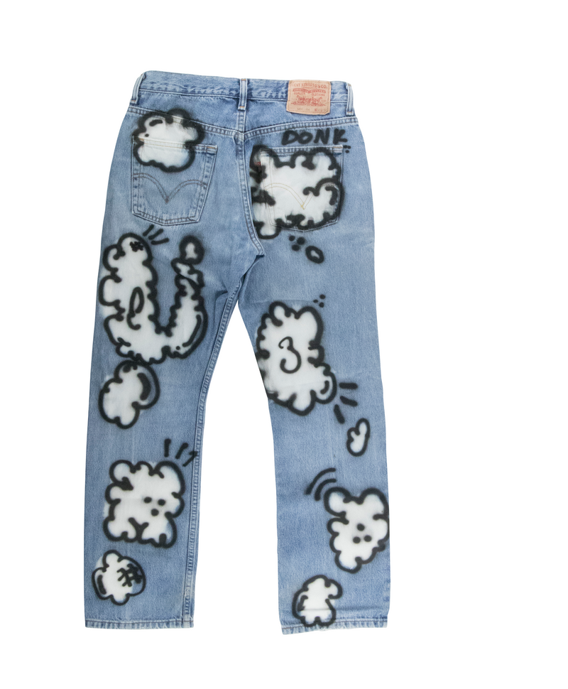 DONK Cloud Printed Jeans