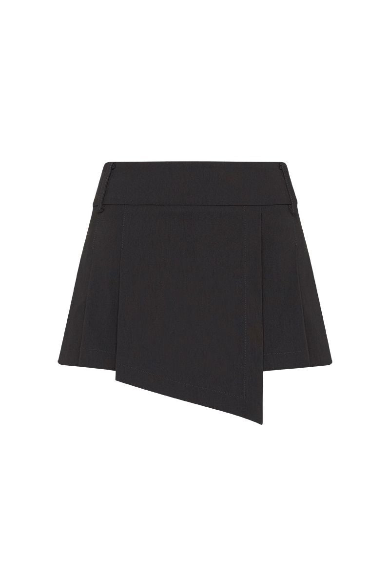MINI B SKIRT (BLACK)