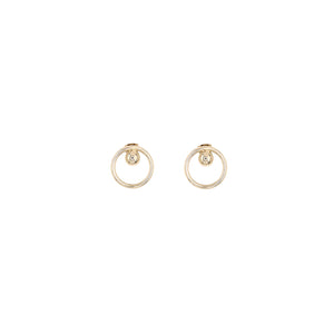 Andy Earrings Gold - 50m