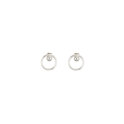 Andy Earrings Palladium - 50m