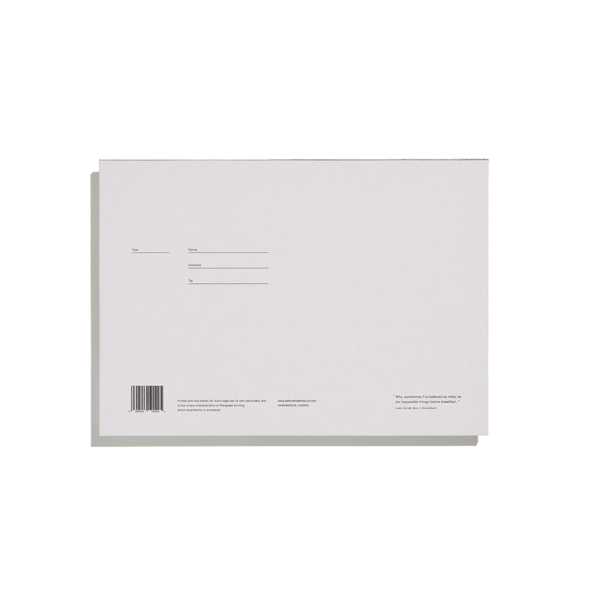 Mid Grey Desktop Notepad