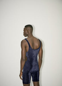 Navy Jumpsuit With Cut outs-50m London