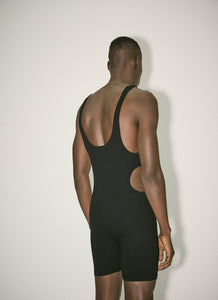 Black Jumpsuit With Cut Outs - 50m
