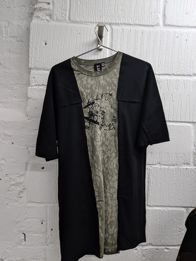 Chop & Sew Tee Black 5 Small-50m London