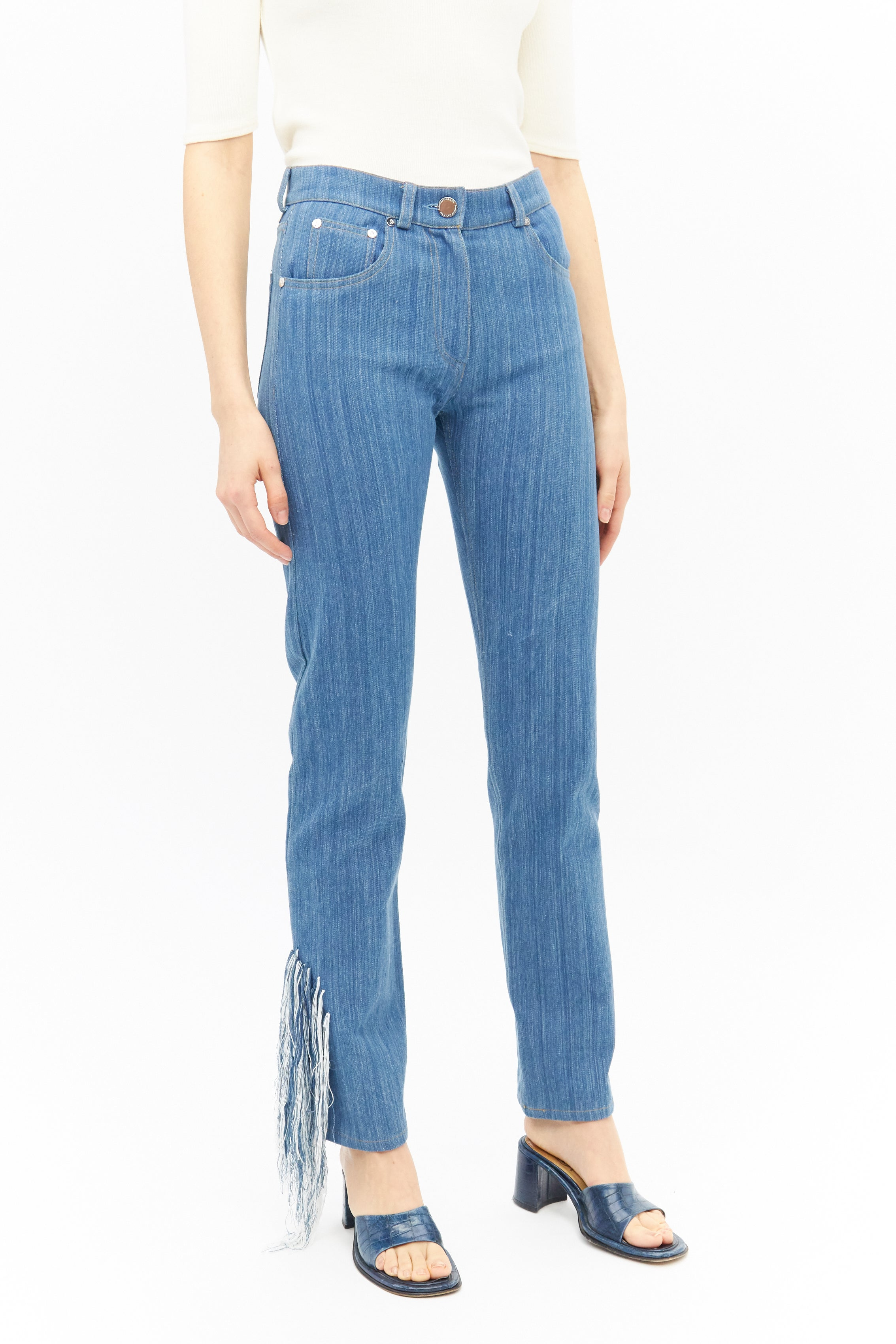 Handwoven Cotton Jeans