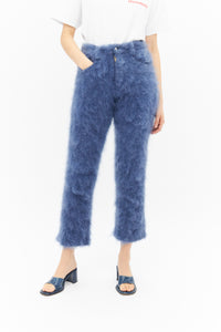 Fluffy Mohair Jeans