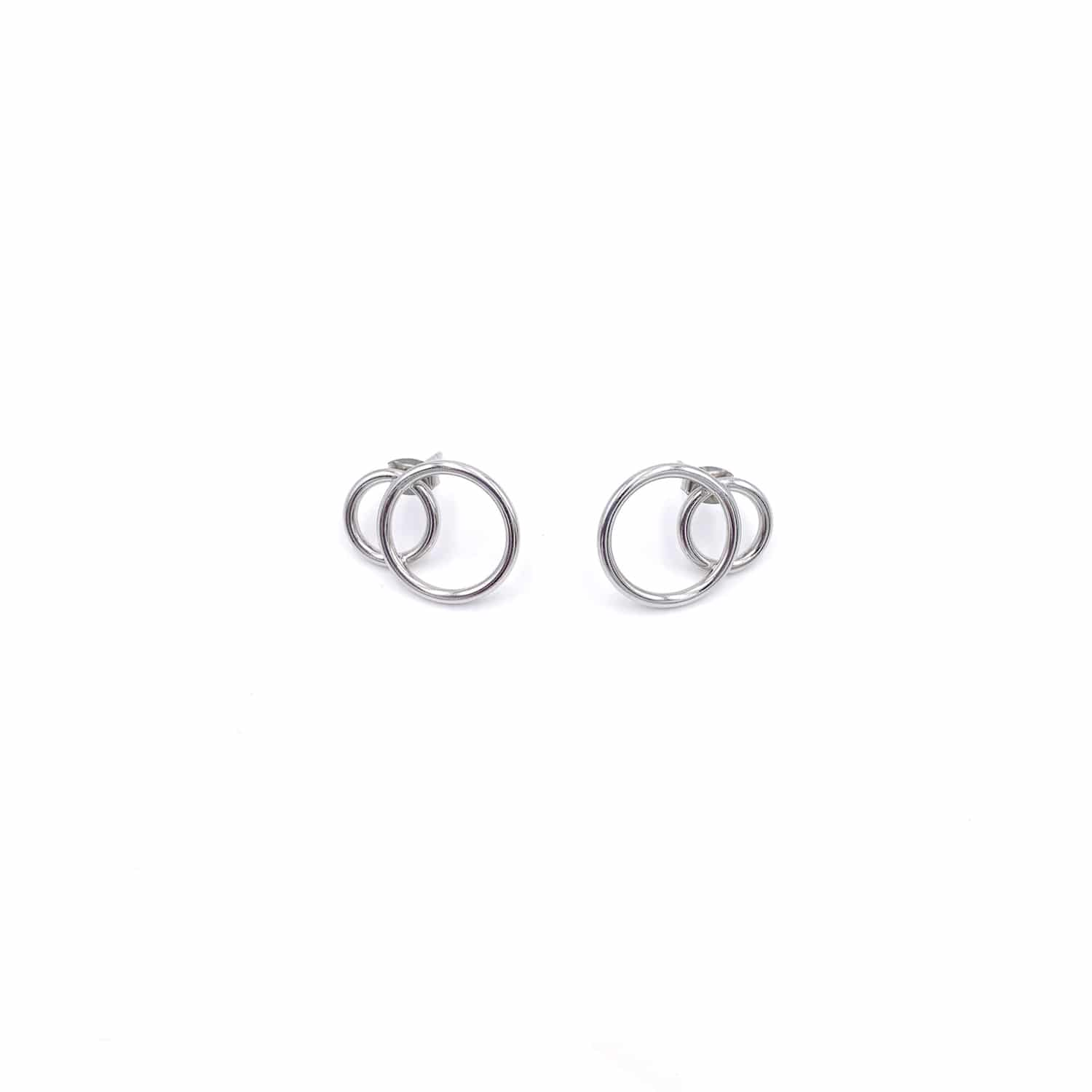 Gale Palladium Earrings-50m London