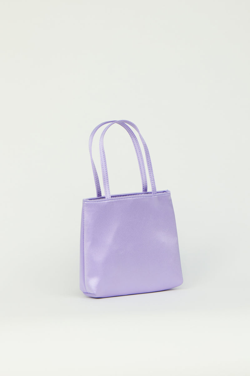 Lilac Little Silk Bag