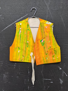 Handpainted Freedom Vest-50m London