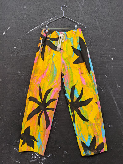 Handpainted Juicy Printed Trousers-50m London