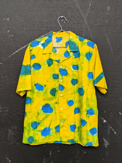 Handpainted Smuged Dot Shirt-50m London