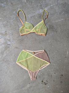 Green Umbra French knicker-50m London