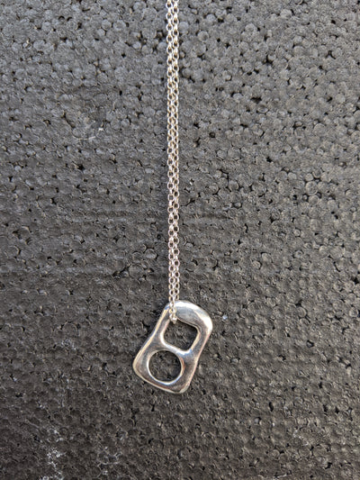 Ring Pull Pendant Necklace