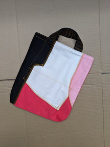 Up-Cycled Patchwork Tote Bag 02-50m London