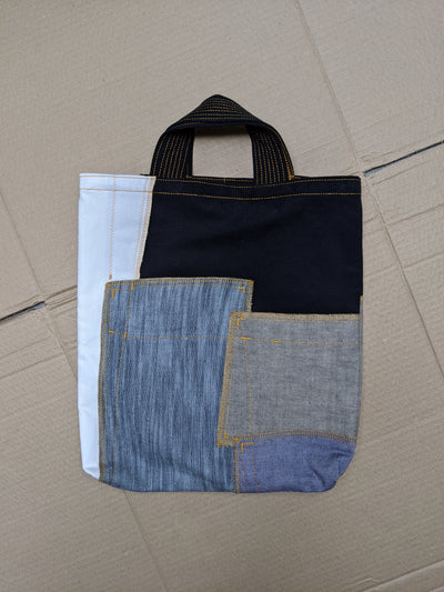 Up-Cycled Patchwork Tote Bag 03