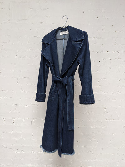 Denim Indigo Coat-50m London