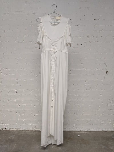 Maya Dress White-50m London