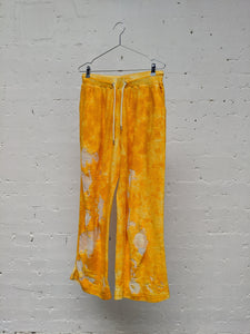 Devore Hand Painted Terry Joggers-50m London