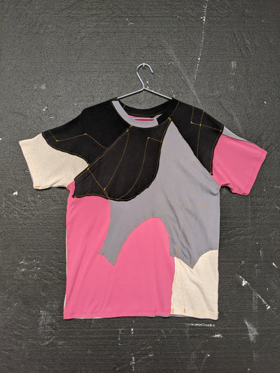 Upcycled One-off Short Sleeve T-shirt 24