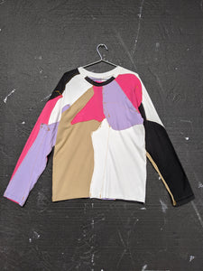 Upcycled One-off Long Sleeve T-shirt 15