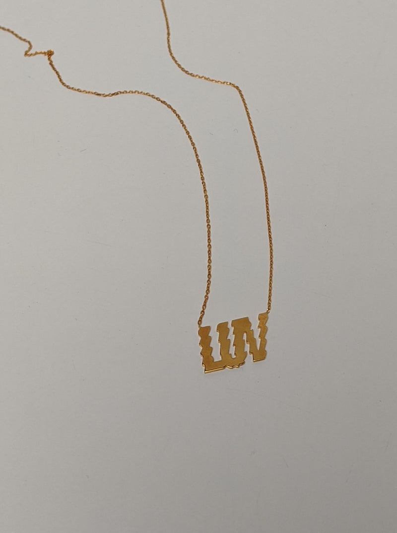 LUV Pendant Necklace