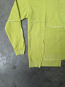 Chop And Sew Sweat Lime-50m London