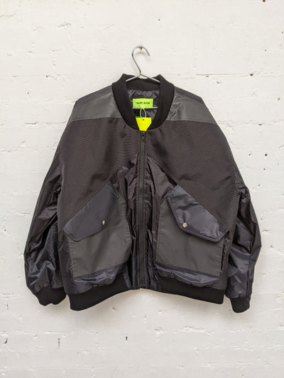 Patchwork Bomber Jacket-50m London