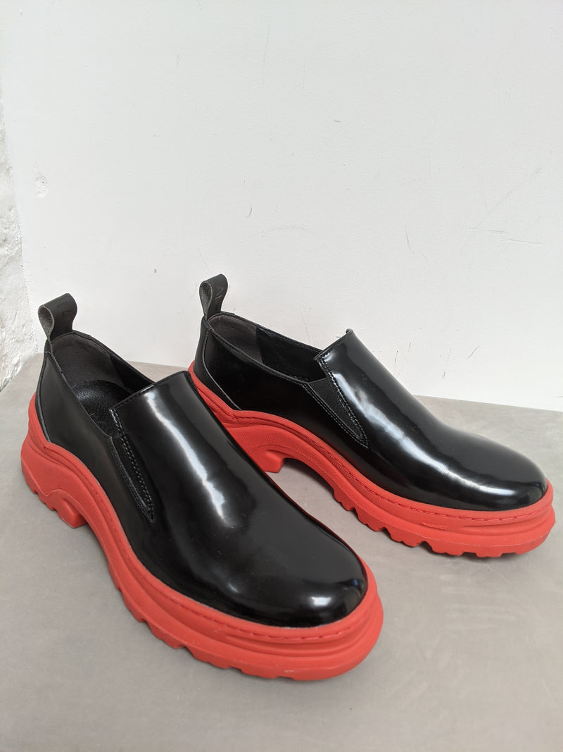 Epicene Black With Red Sole