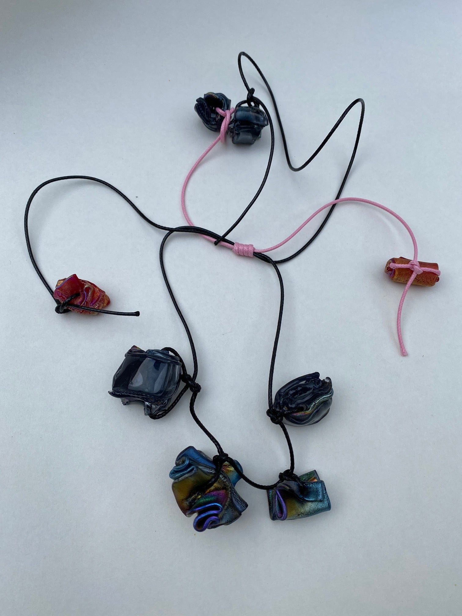 Recycled Plastic Necklace-50m London