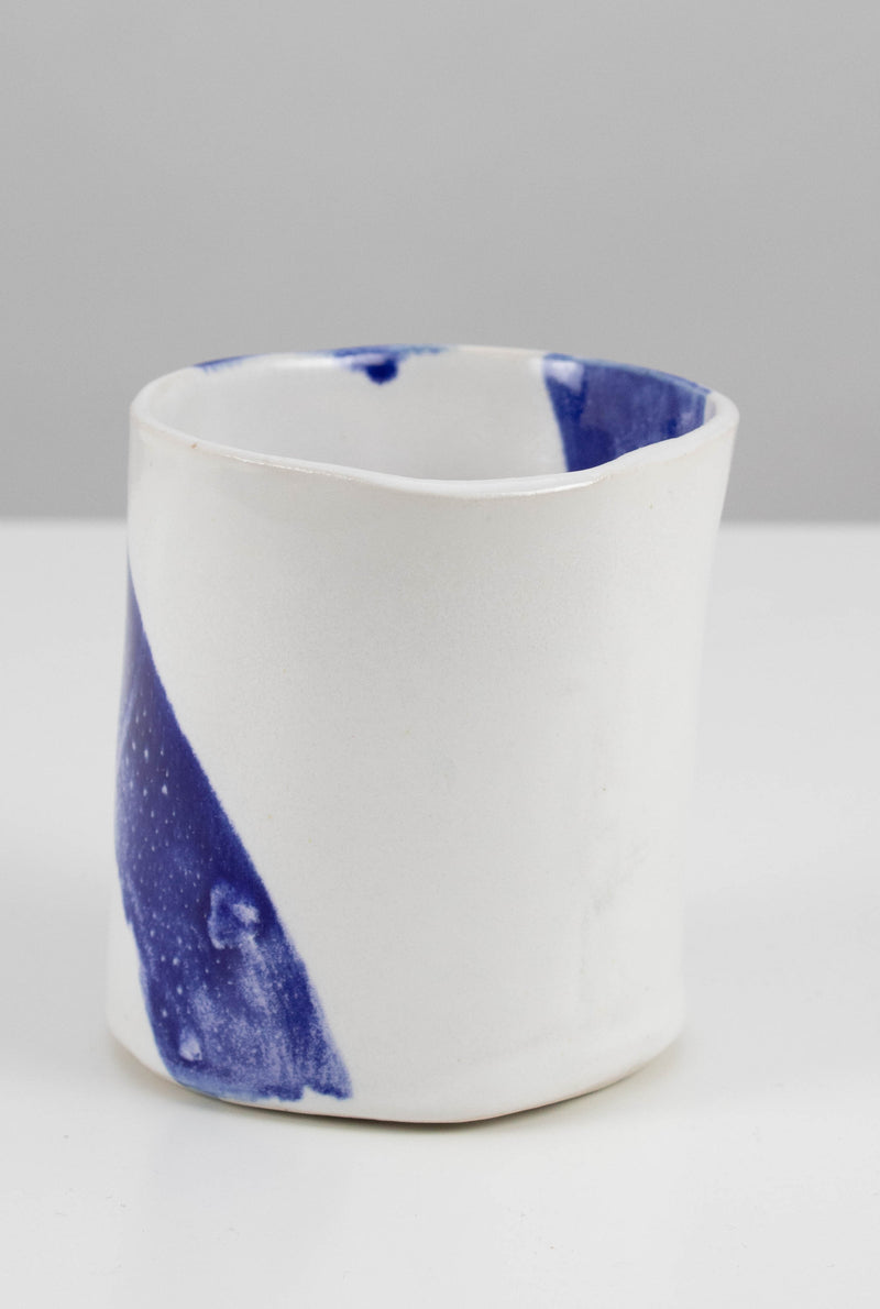 Blue Stripe Cup