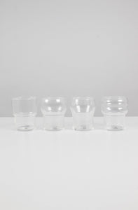 4 x Totem Stacking Glasses
