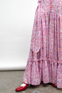 Puff Sleeve Victorian Tea Gown-50m London