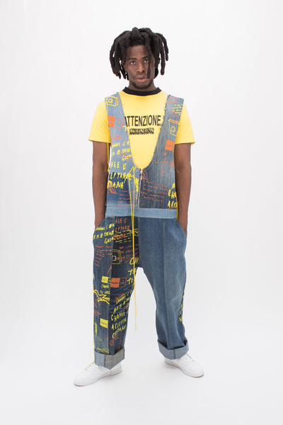 Screen Printed and Embroidered Prison Messages Overalls - MTO