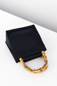 Black Silk Bamboo Bag