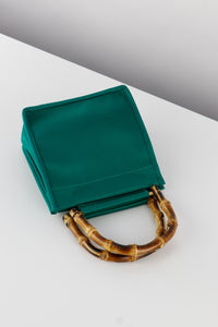 Green Silk Bamboo Bag