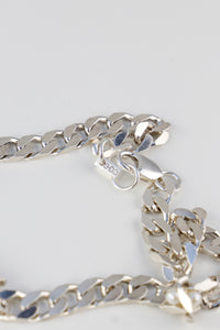 Thick Flat Pearl Chain