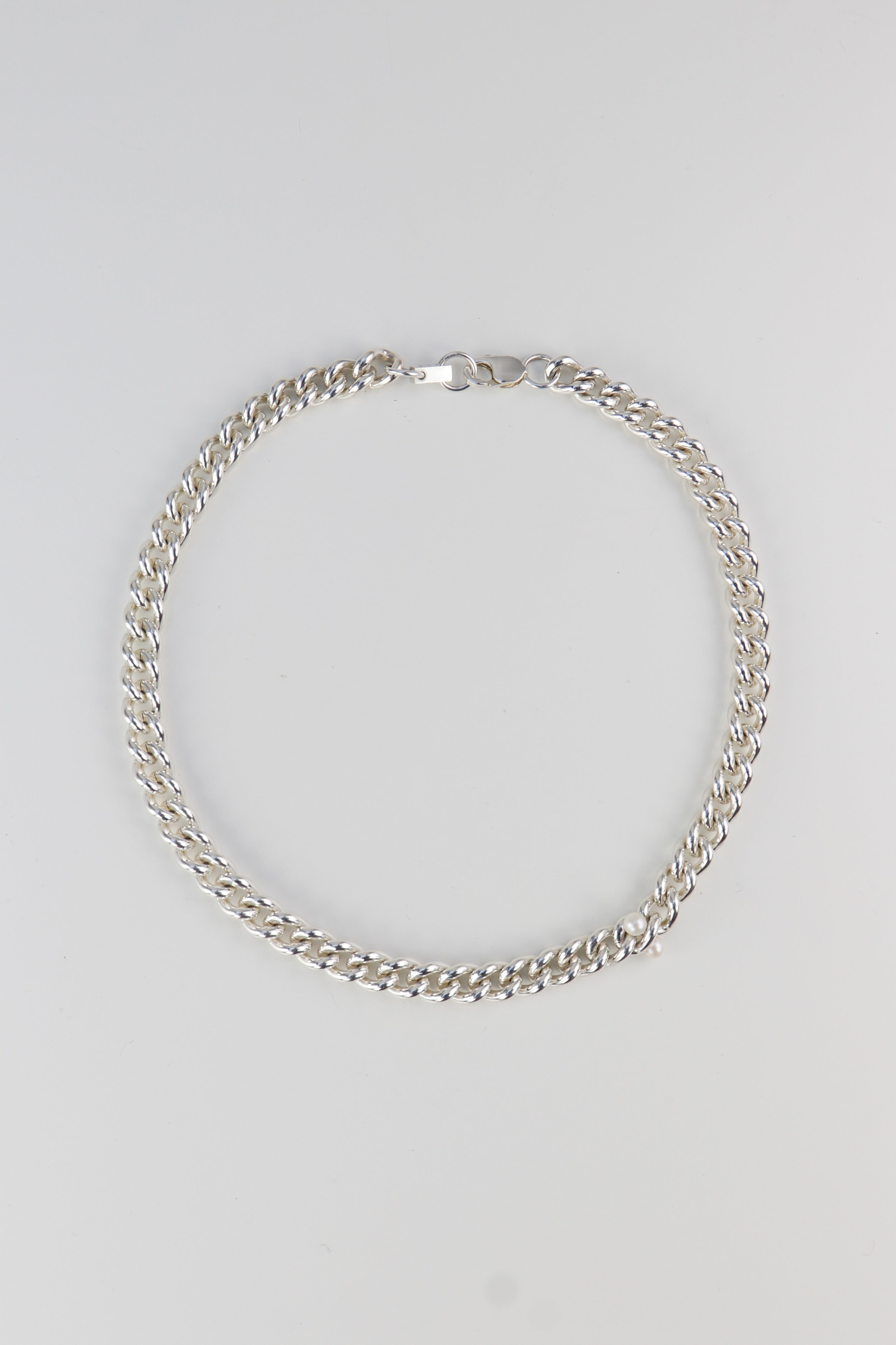 Thick Rounded Pearl Chain