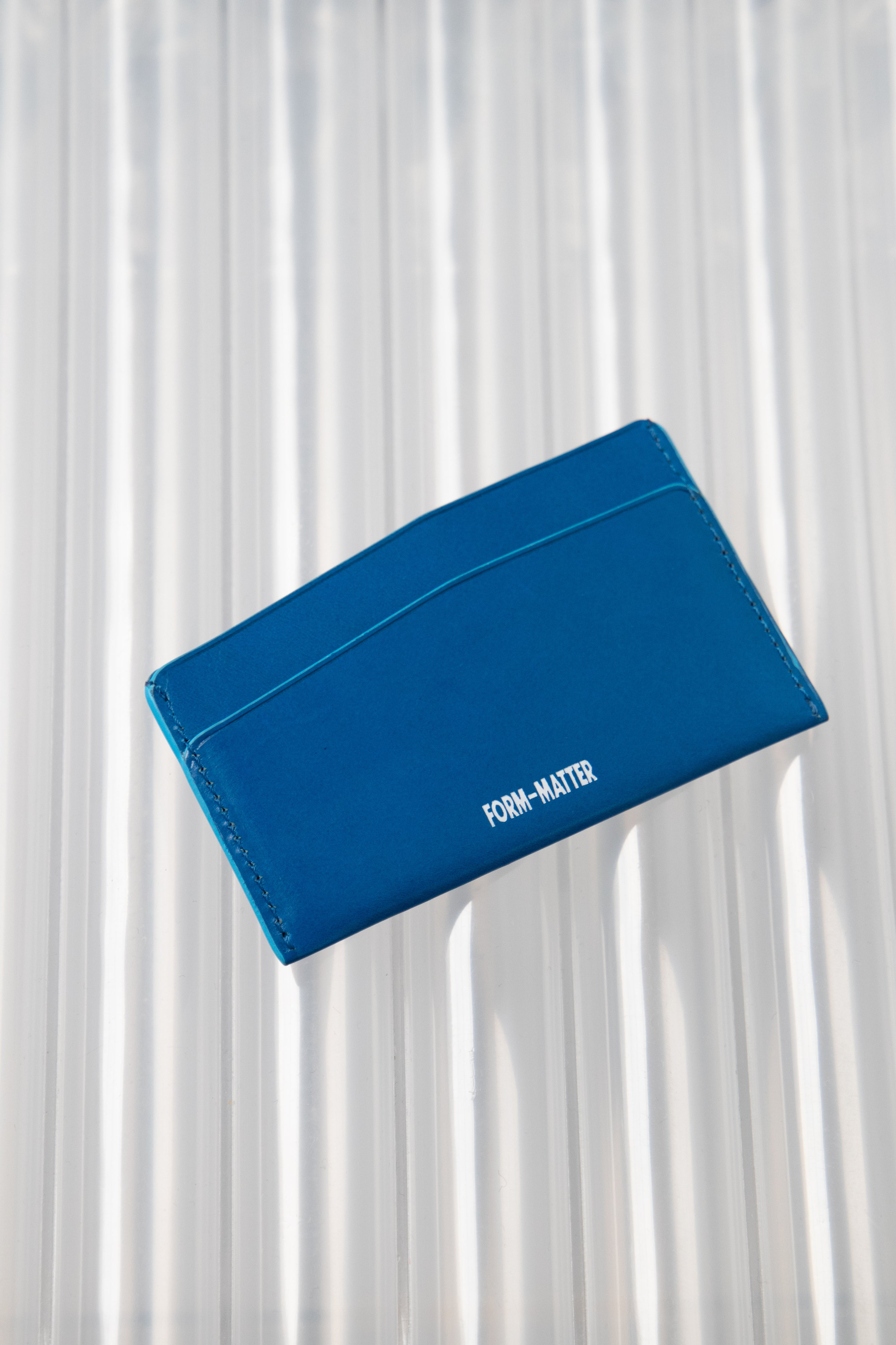 Slant Wallet Blue