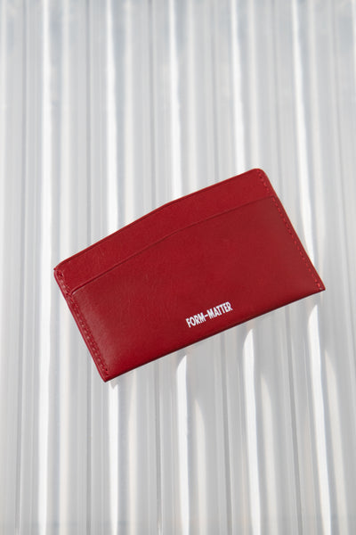 Slant Wallet Red