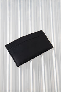Slant Wallet Black
