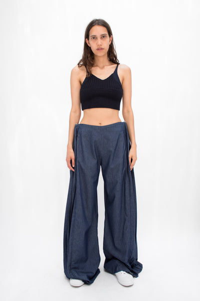 Cham Pleat Trousers