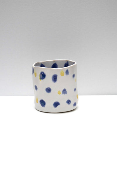 Blue Yellow Dot Cup - 50m