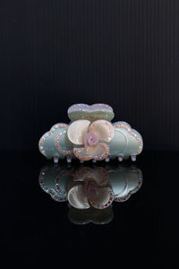 Rose Mint Hair Clip-50m London